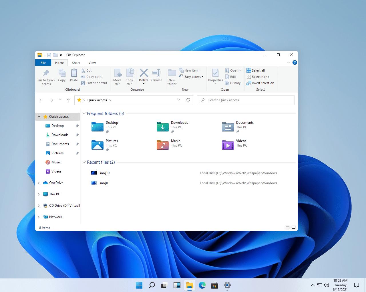 Průzkumník souborů. Foto: Microsoft