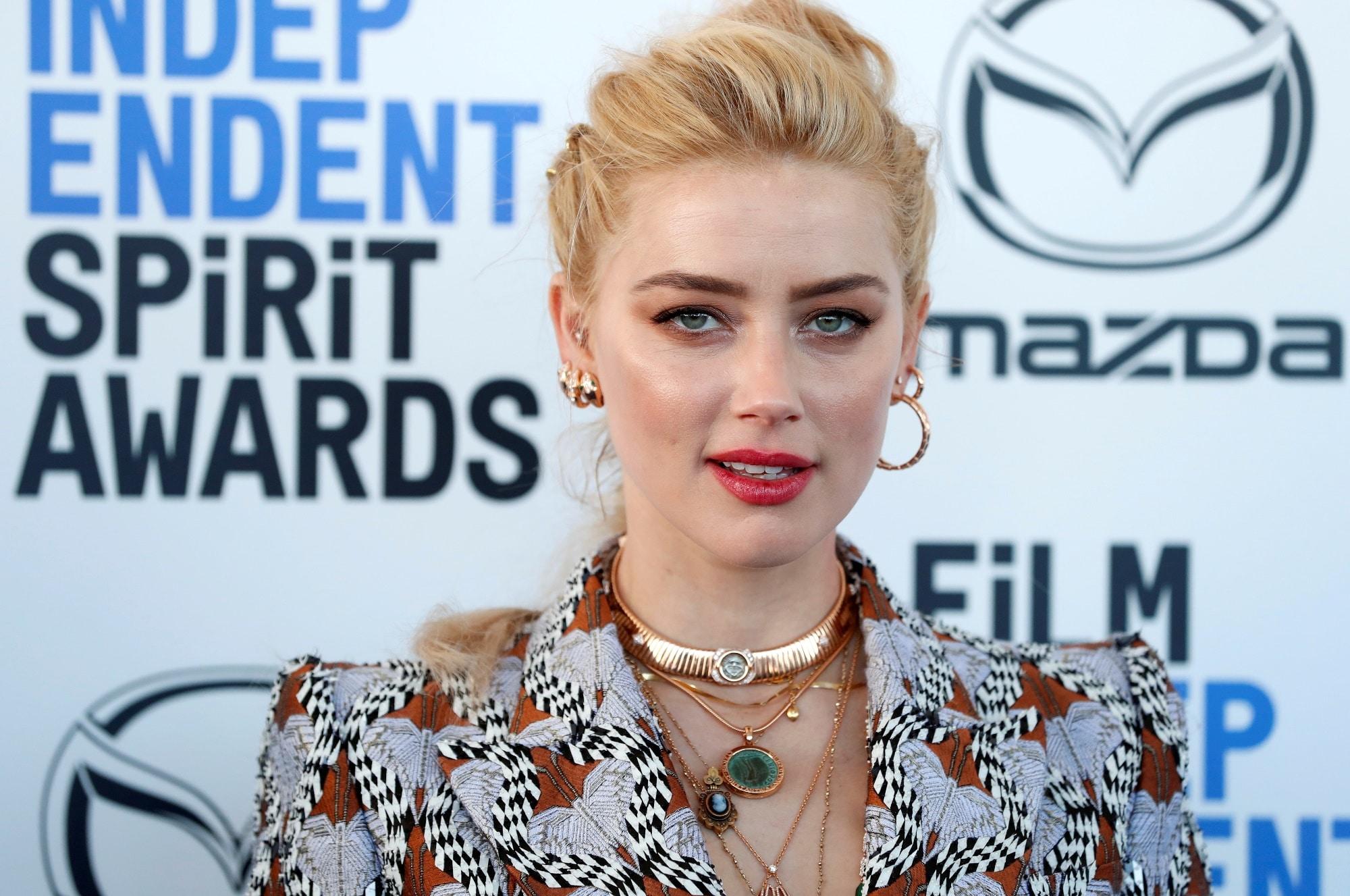 Herečka Amber Heard se stala matkou