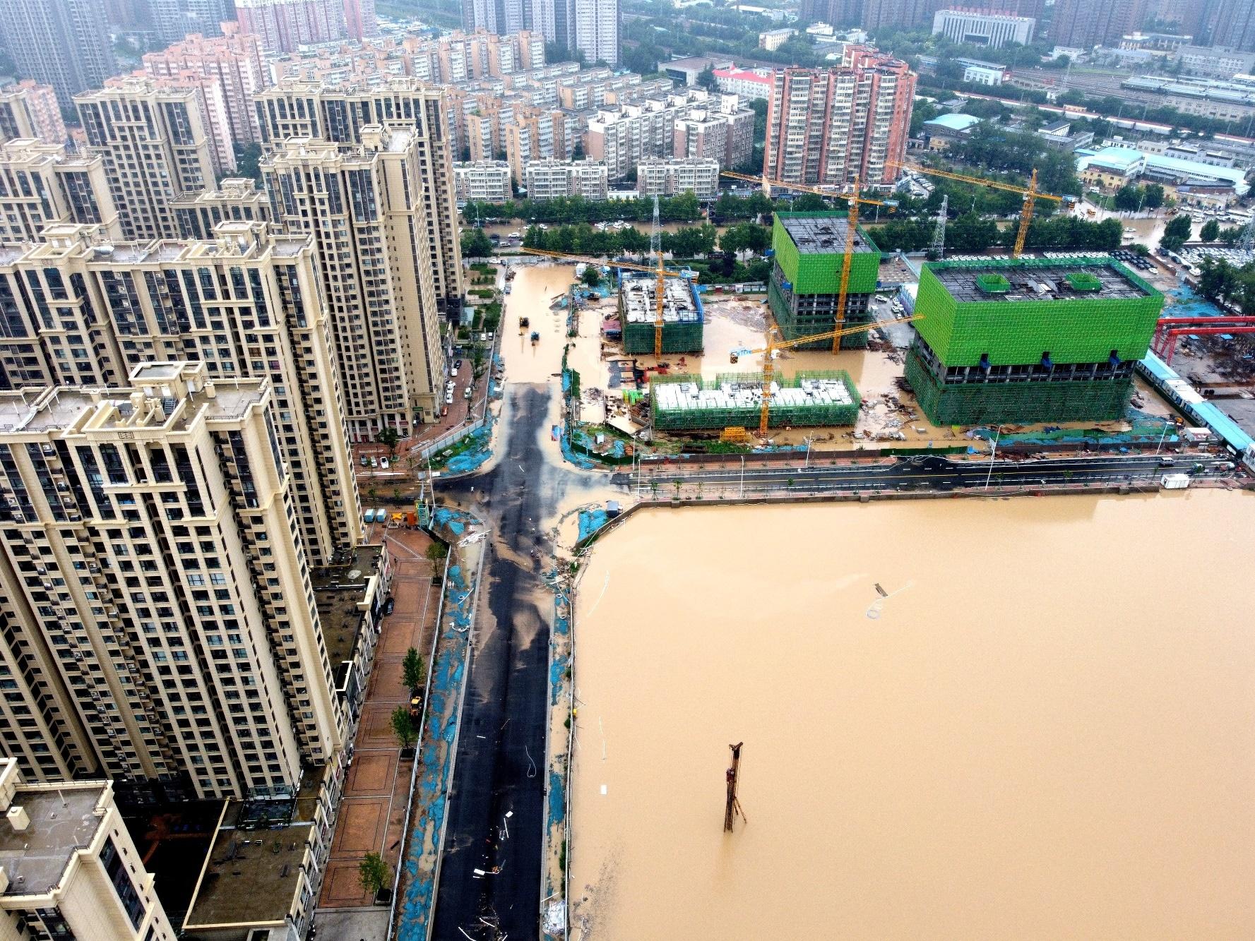 Zatopené město Čeng-čou