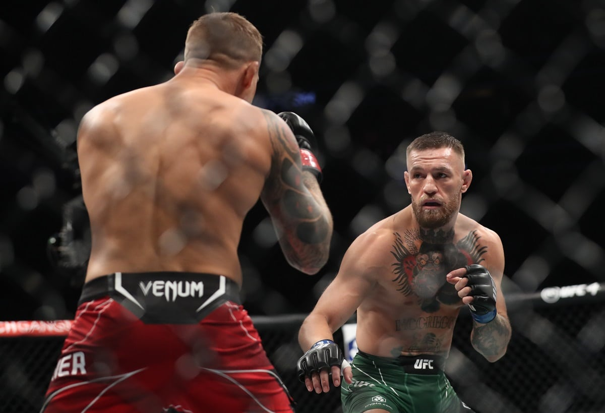 UFC McGregor hrozil smrtí zranění na nosítkách