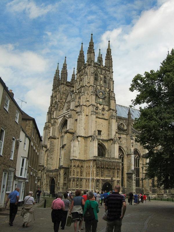 nejstarší stavby v Anglii