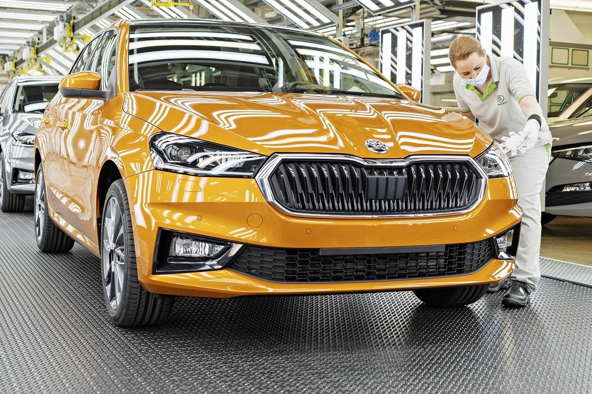 čtvrtá generace Škoda Fabia