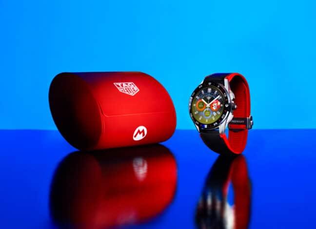 Super Mario hodinky
