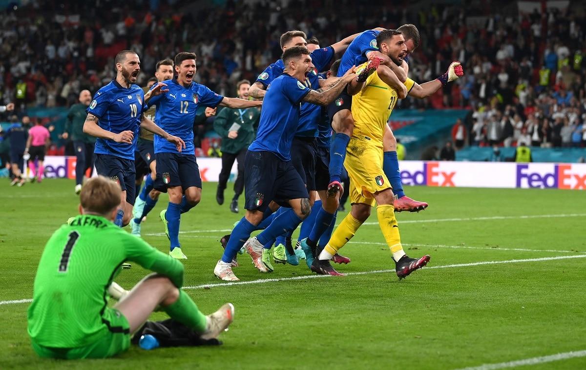 Itálie vyhrála EURO