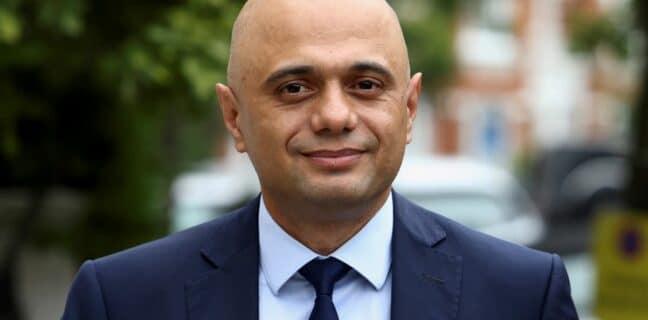 Britský ministr zdravotnictví Sajih Javid