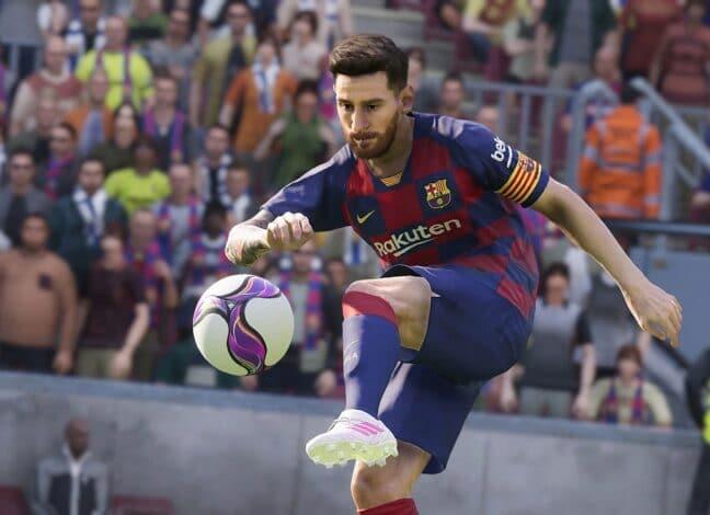 Konkurent FIFY PES se mění na eFootball