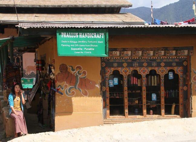 Bhútán falus