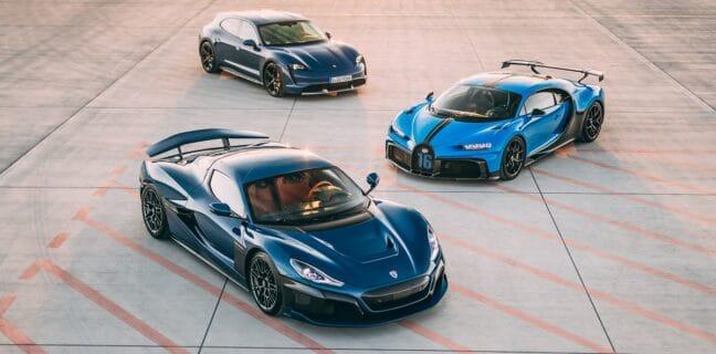 Bugatti x Rimac