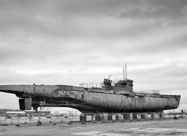 Německá ponorka U534 za druhé světové války. Foto: Wikipedia - Paul Adams
