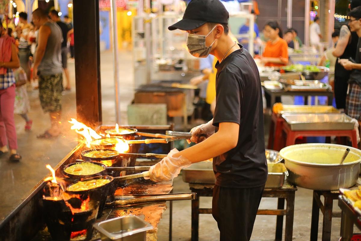 dobrý street food ve Vietnamu
