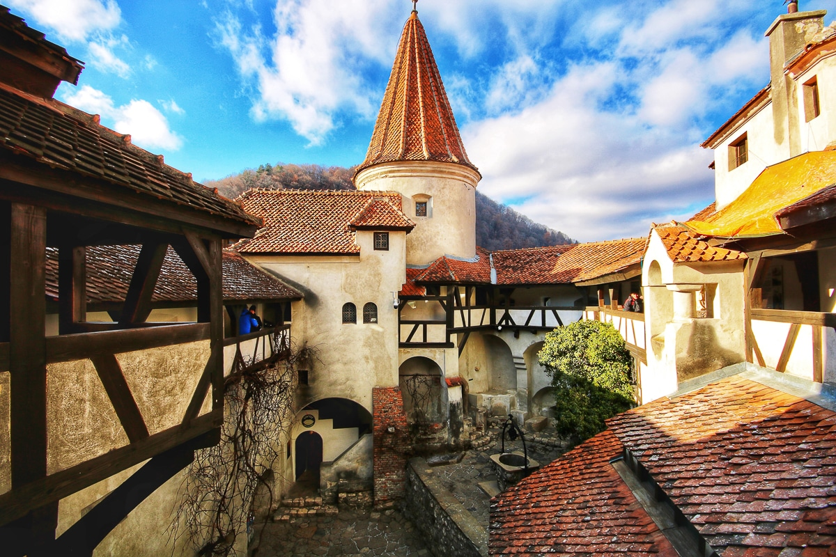 historie Drákulova hradu Bran