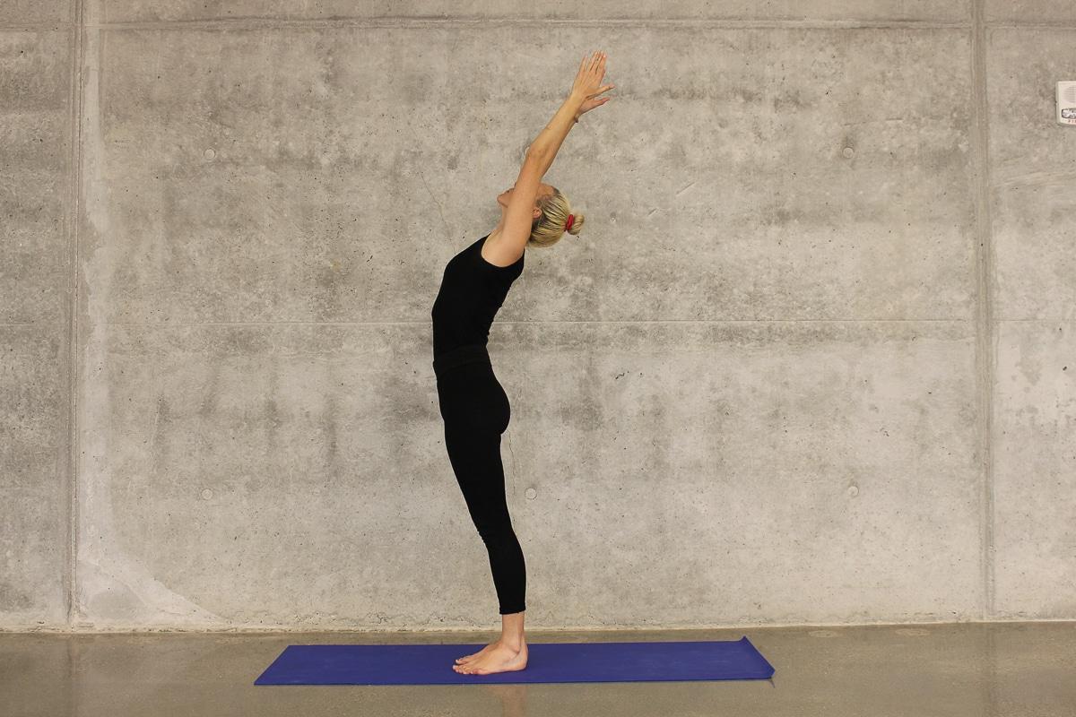 jógové pozice pro začátečníky