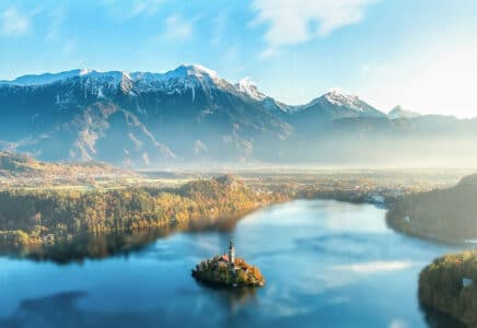 treky ve Slovinsku