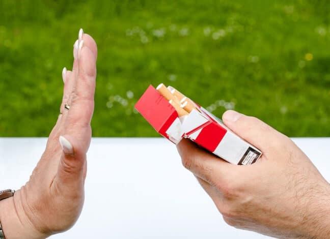 Odmítnutí kouření. Foto: Pixabay