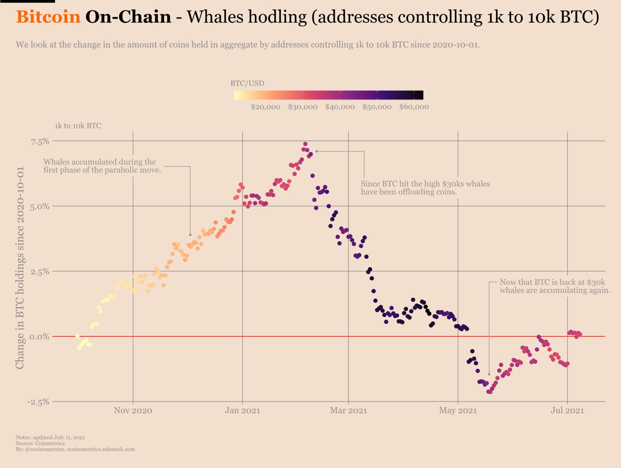 velryby akumulace