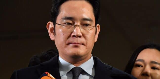 Dědic Samsungu Lee Jae-yong