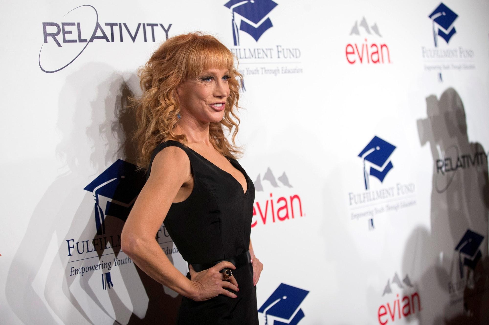 Americká herečka Kathy Griffin
