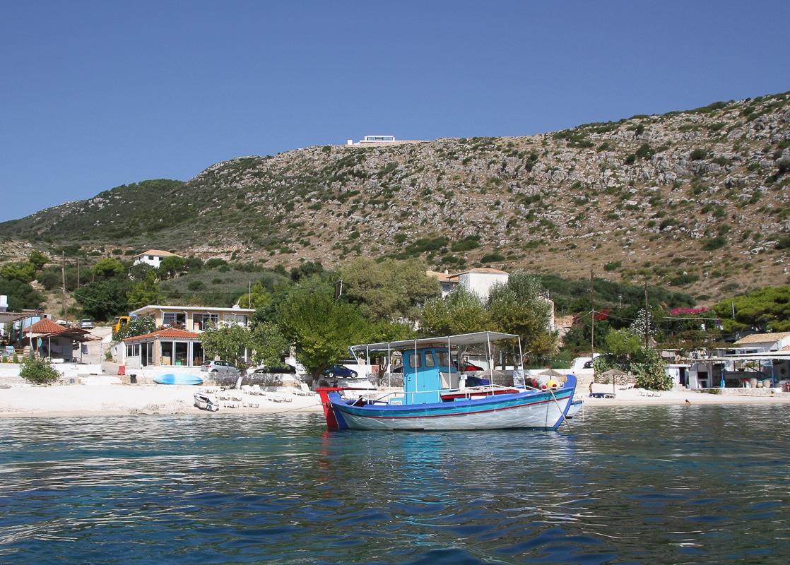 uniknout davům turistů na Zakynthosu