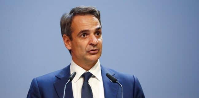 Řecký premiér Kyriakos Mitsotakis