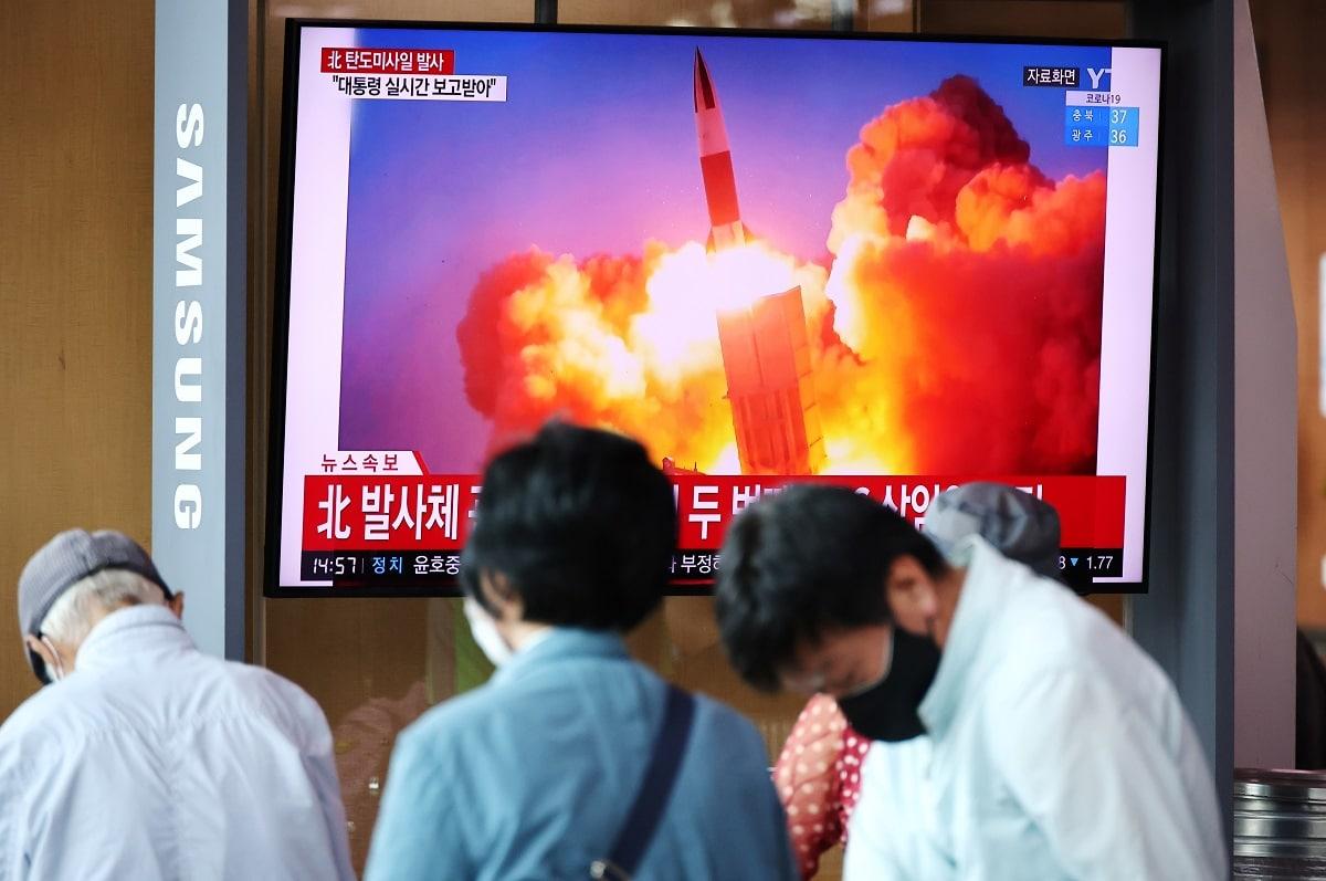 Odpálení balistických raket