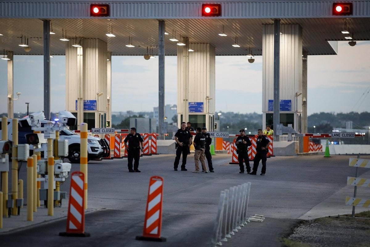 Příliv migrantů v Texasu