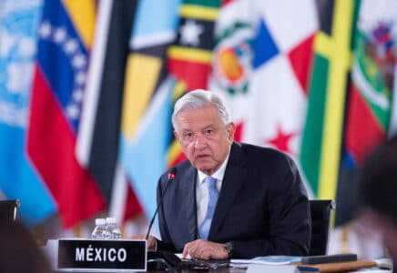Mexický prezident Andres Manuel Lopez Obrador