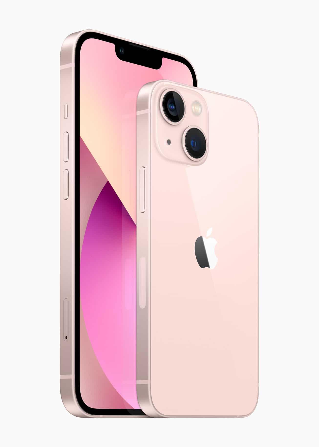 iPhone 13 a iPhone 13 mini