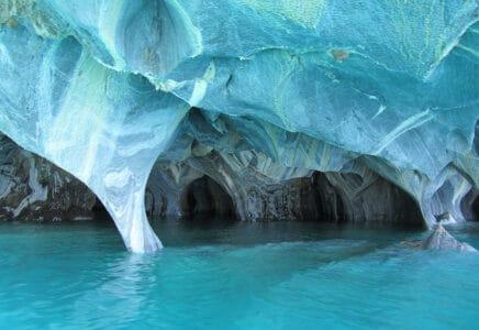 Mramorové jeskyně, Chile