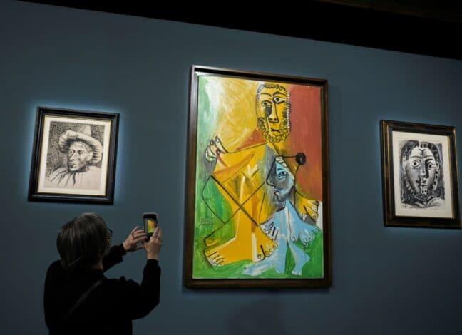 Picassovy obrazy se v Las Vegas vydražily za více než 100 milionů dolarů