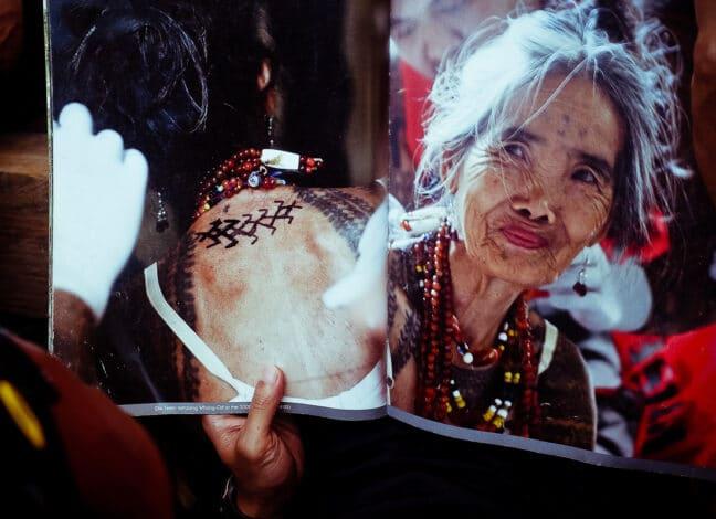 filipínská tatérka Whang Od Oggay