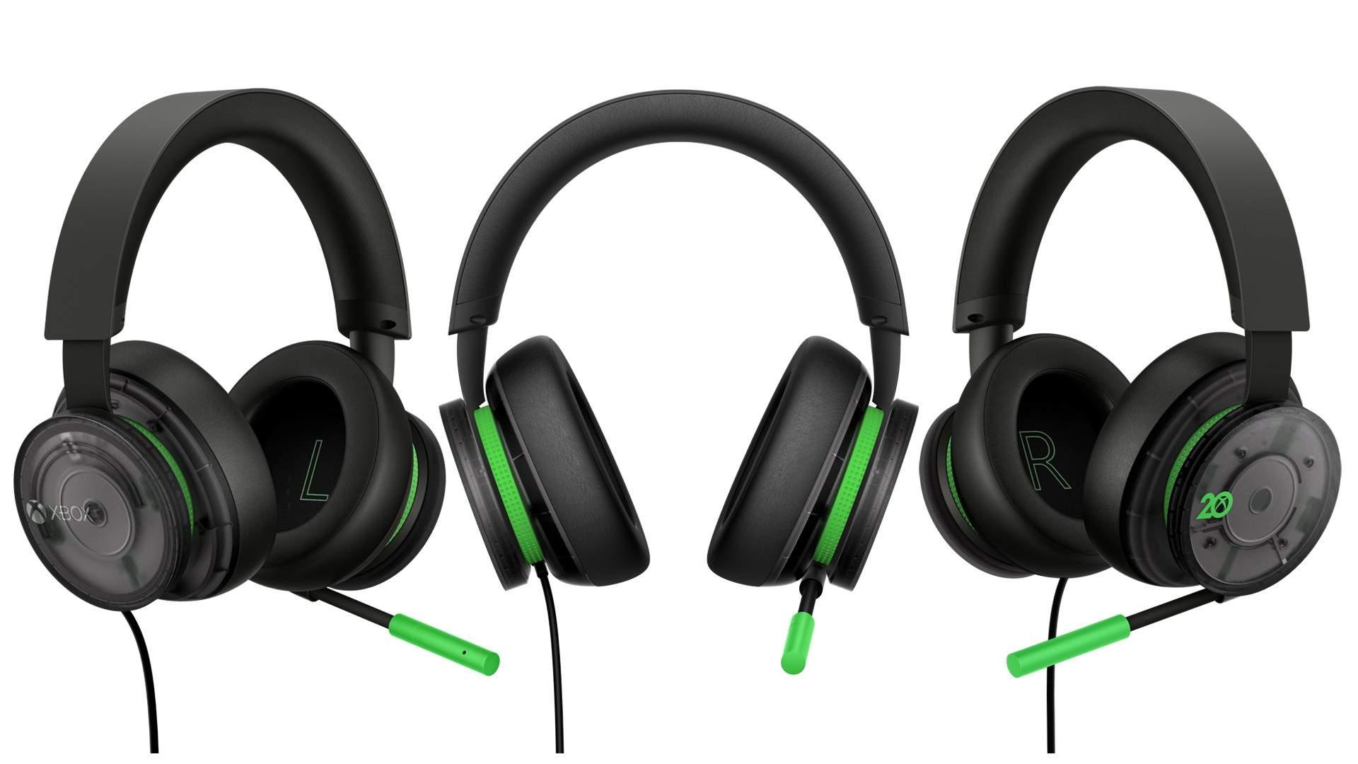 Průsvitné sluchátka k 20. výročí Xbox