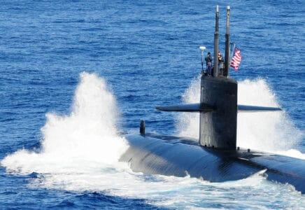 Americká jaderná ponorka se střetla s neznámým objekt v Jihočínském moři