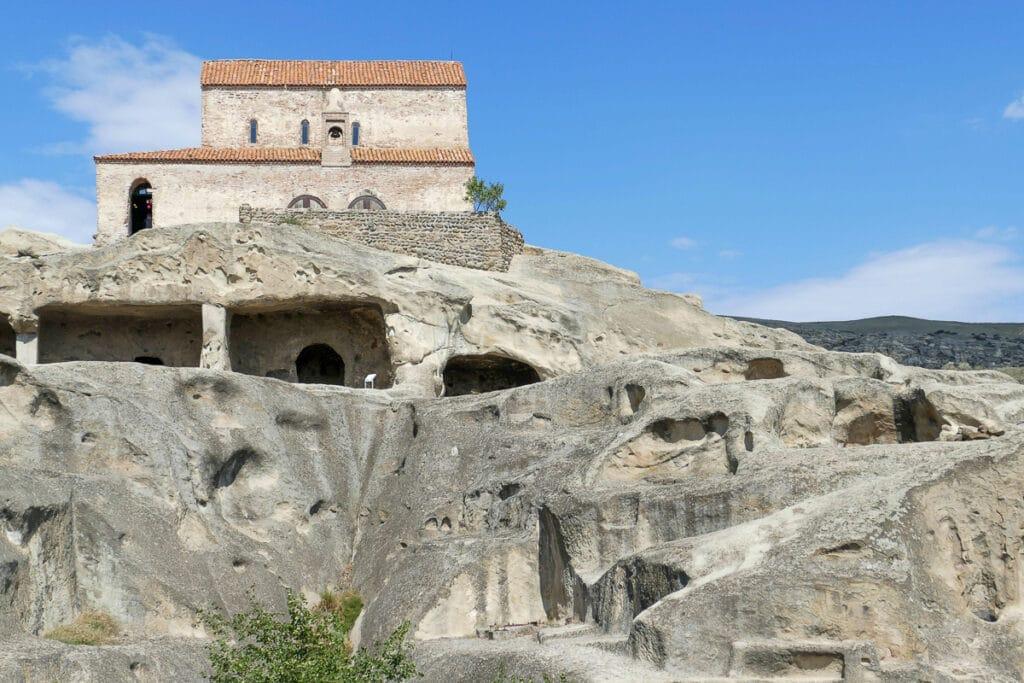Nejstarší jeskynní město v Gruzii Uplistsikhe