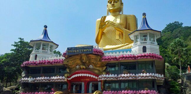 buddhistické chrámy na Srí Lance