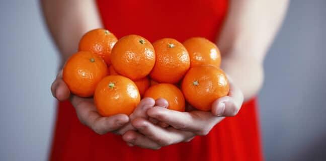 pomeranče oranžová